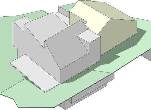 drei a architekten villa berglistrasse erlenbach. Black Bedroom Furniture Sets. Home Design Ideas
